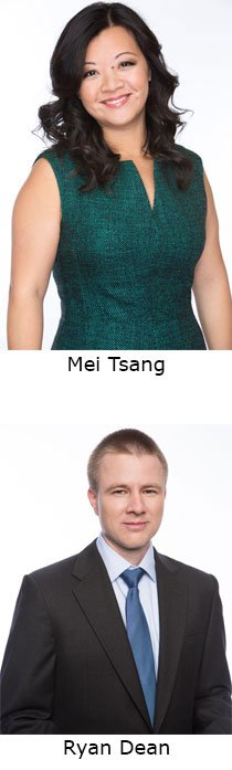 Mei Tsang and Ryan Dean