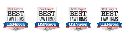 Best Lawyers Best - Law Firms - U.S. News - 2015, 2016, 2017, 2018