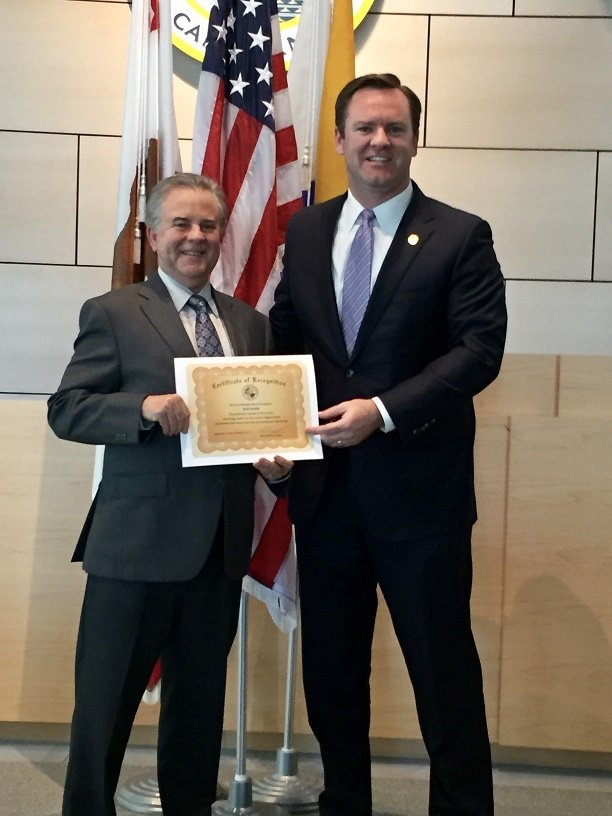 Dean Zipser of Umberg Zipser Honored by City of Newport Beach