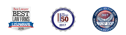 Best Lawyers Best - Law Firms - U.S. News - 2015, The Civic 50 - 2017, Top 100 - 2017