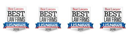 Best Lawyers Best - Law Firms - U.S. News - 2016, 2017, 2018, 2019